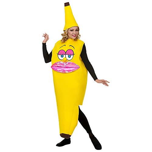 WIDMANN- Costume Banana per Adulto Disfraces, Multicolor (68584)