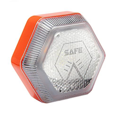 Safe Light Mini luz de Emergencia - Señal v16 homologada DGT, Recargable hasta 4 Horas de autonomia, tamaño Mini