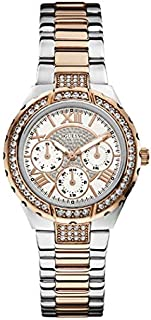Guess for Women - Casual Stainless Steel Band Watch - W0111L4