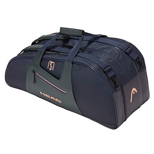 HEAD Unisex– Erwachsene Sharapova Combi Bag Tennistasche, Navy/Grey, 75 x 30,5 x 30,5