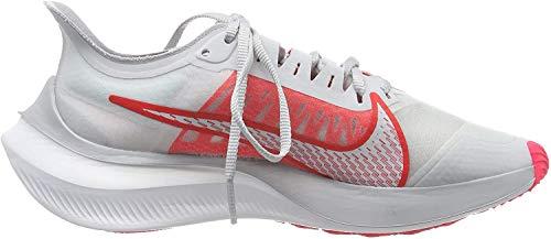 Nike Women's Training Shoes, Grey Pure Platinum White Red Orbit 003, 5.5 UK