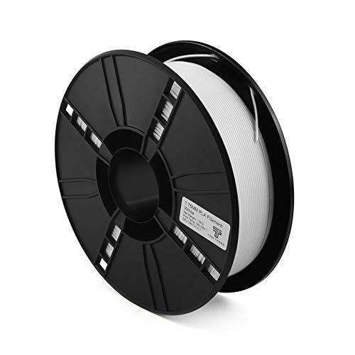 3D-Druckerfilament 1 kg, PLA-Filament 1,75 mm, Wird für 3D-Drucker und 3D-Stift verwendet-Weiß