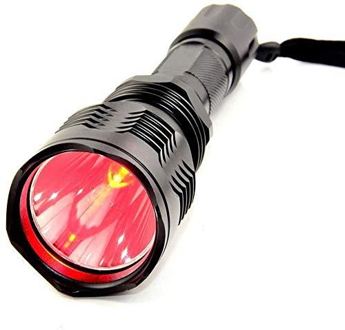 BESTSUN HS-802 Cree XRE 1000 Lumens Single Mode 350 Yards Long Distance Red Light Hunting Led Flashlight