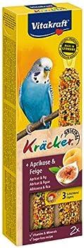 Vitakraft P/2 Kräcker Abricot/Figue Friandise pour Perruche
