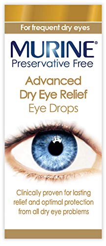 Murine Advanced Preservative Free Dry Eye Drops for Fast Acting, Long Lasting Relief and Protection...