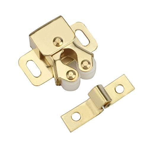 Innerset - Hebilla de doble rueda para puerta de armario