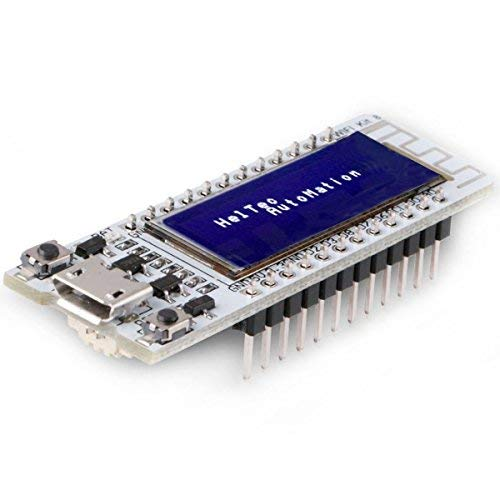 MakerHawk ESP8266 WiFi Development Board with 0.91 Inch ESP8266 OLED Display CP2012 Support NodeMCU LUA for Arduino