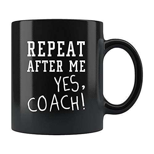 Regalo divertido del entrenador, regalo para el entrenador, taza de café del entrenador, taza de café, taza para el entrenador Entrenador de fútbol Entrenador de fútbol Entrenador de tenis, Entrenador