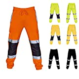 NIUQY Pantaloni da Lavoro Casual Pantaloni da Casual Uomo Sportivi Caviglia Slim Fit Jeans Pantaloni Aggiungi Prezzo Speciale Sconto Autunno Inverno Caviglia Slim Jeans