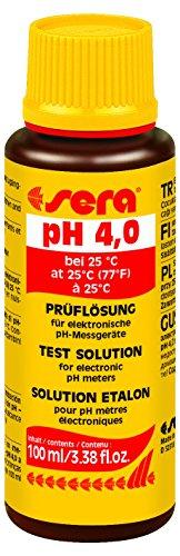 Sera 8916prüflösung PH 4,0(a 25°C)–A la calibración y comprobación de medición PH y Controladores de pH