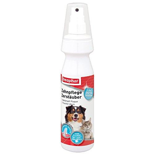 beaphar Zahnpflege Zerstäuber für Hunde & Katzen | Zur gründlichen Zahnreinigung | Zähneputzen ohne Bürste | Für Hunde & Katzen | 150 ml