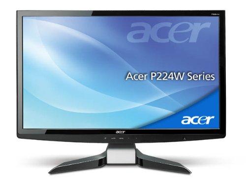 Acer P224WAbmid 22 inch Widescreen TFT LCD Monitor (1680 x 1050, WSXGA+, 10000:1, 300 cd/m2, 2 ms VGA/DVI/HDMI (Black))
