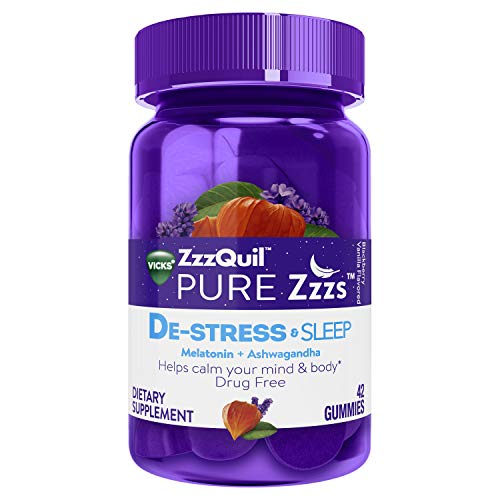 ZzzQuil De-Stress & Sleep Gummies (42 Count)
