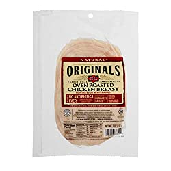 Dietz & Watson Originals Pre-Sliced No Antibiotics Ever Oven Roasted Chicken Breast, 7 oz