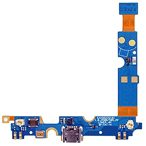 WUXUN-PHONE CASE Repair Parts USB Charging Connector Port Flex Cable & Microphone Flex Cable Compatible with LG Optimus F6 / D500 / D505