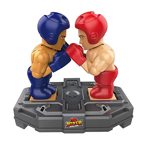 Lihgfw Kinder Zwei-Personen-Kampf, Kampf-Maschine, Puzzle Denken Training, Eltern-Kind-Interaktives Spiel, Boxring, Mutual Hammer, Brettspiel, Übung Reaction (Color : Red Blue)