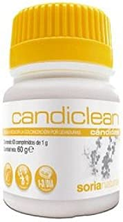 Soria Natural Candiclean - 60 Tabletas