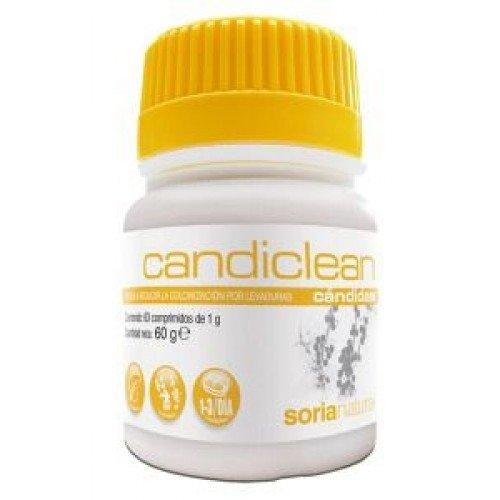 Candiclean Candidas 60 comprimidos / Aceite esencial de Orégano y Clavo,