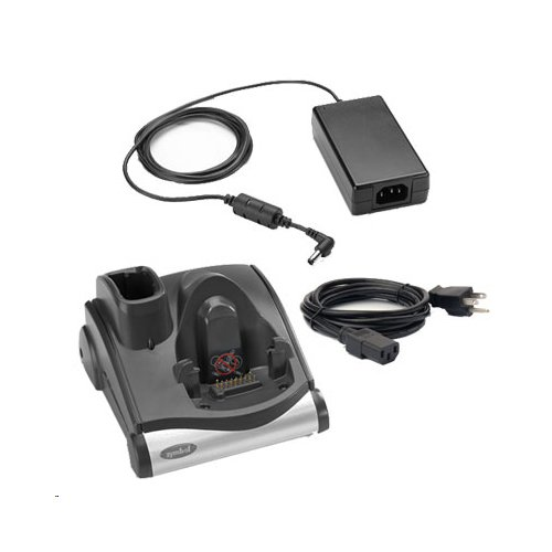 Zebra Technologies CRD9000-110SES Cradle Kit for Model MC90X0 and MC9190, Includes Cradle, Power Supply, and Line Cord, Requires Communication Cable
