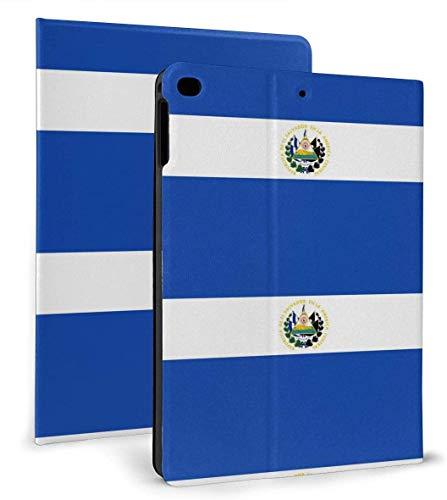 Funda Inteligente de Cuero PU con Bandera de El Salvador, función de Reposo / activación automática para iPad Mini 4/5 7,9 'y Funda para iPad Air 1/2 9,7'