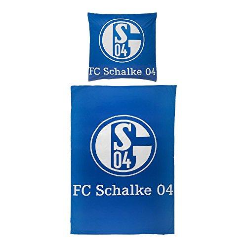 FC Schalke 22607 Bettwäsche Signet