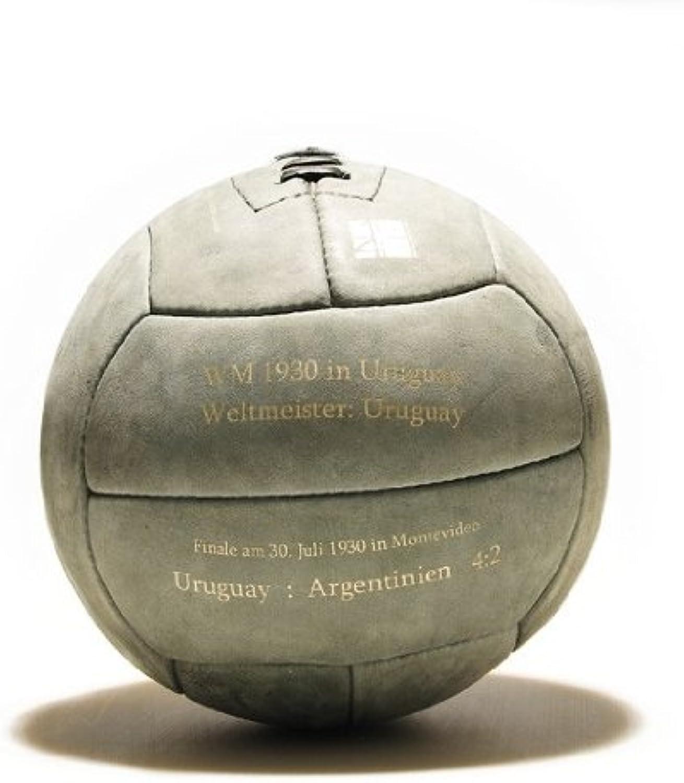 WM Fußball Retro - LEDERBALL 1930 mit Aufdruck B004VL0X9C  Luxus