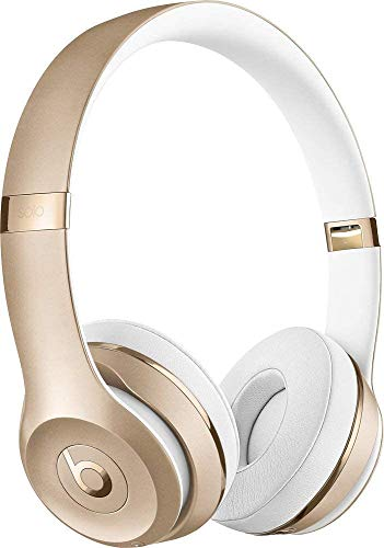 Beats Solo3 Wireless On-Ear Headphones - Gold (Renewed)