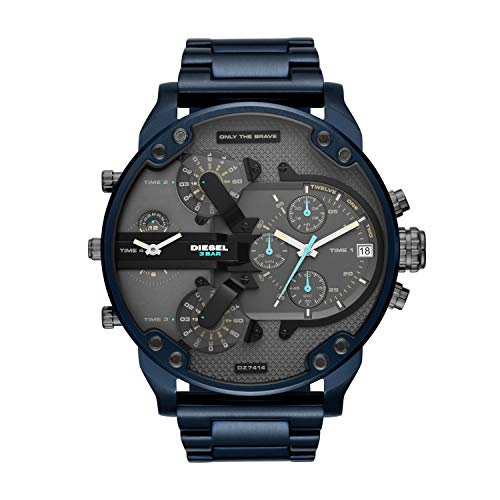 Diesel Men's Chronograph Quartz Watch with Stainless Steel Strap DZ7414