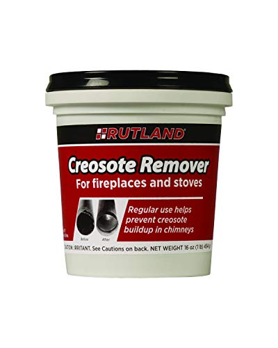 Rutland Products 1 lb Creosote Remover, White and Black