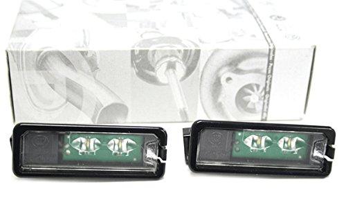 Original VW Golf VII LED Kennzeichenbeleuchtung zur Nachrüstung, Golf 7 / Golf Sporstvan