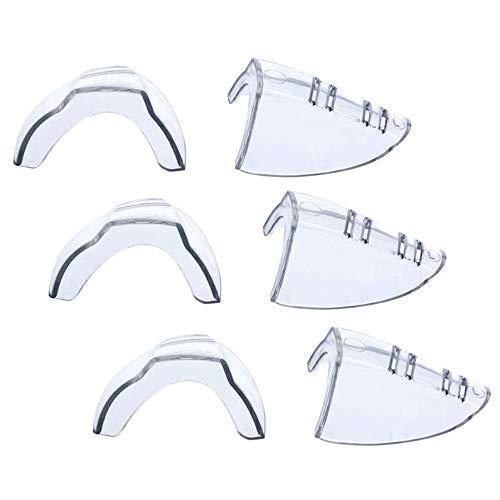 3 Pairs Side Shields for Eyeglasses,Eye Glasses Side Shields Fits Small to Medium Eyeglasses Frames