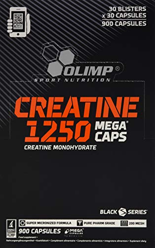 Olimp Creatine 1250 Mega Caps, Blister Box 30 x 30, 900 Kapseln