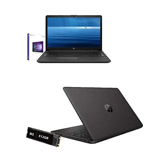 Notebook Pc Portatile HP 255 G7 Amd 3020e 2.6 Ghz Display 15,6  Hd,Ram 8Gb Ddr4,Ssd 512Gb M2,Hdmi,USB 3.0,Wifi,Lan,Bluetooth,Webcam,Windows 10 Pro,Open Office,Antivirus