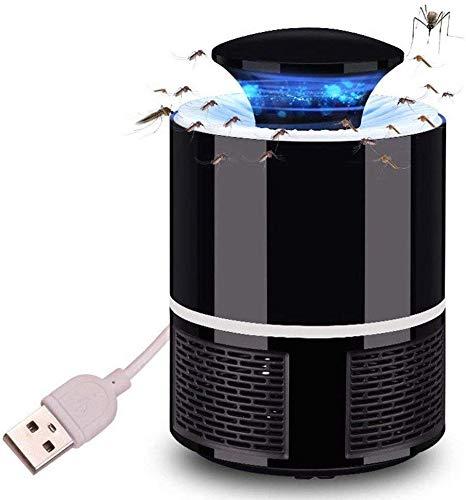 Online-Emporium USB Powered Mosquito Killer Lamp Non-Toxic Electronic Bug Zapper Safe (Black)
