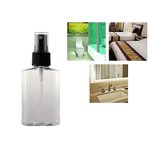 Spray Vide Spray Bottle Flacon Vide Flacon Recipient Cosmetique Flacon Spray Vide Maquillage Shampooing Nettoyant Pour Le Visage Pompe De Maquillage Bouteille Cosmétique Flacon Pompe black nozzle
