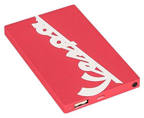 Vespa Power Bank 4000 mAh Fast Charger I Caricabatteria Portatile Universale USB I Batteria Esterna per Tutti Smartphone Cellulari, iPhone, iPad, Kindle e Tablet - Berry, Tribe PBD23402