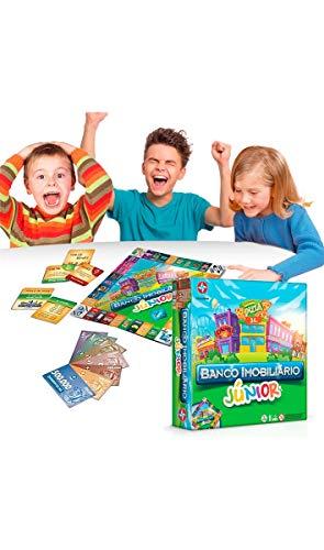 Jogo Banco Imobiliário Jr Brinquedos Estrela