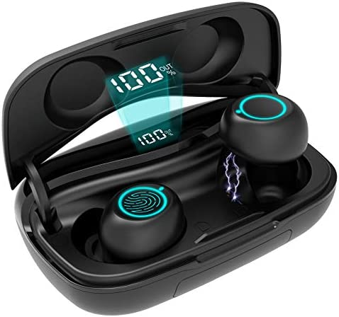 True Wireless Earbuds Aszwor S9 Bluetooth 5 0 Earbuds 120 Hrs Playtime Wireless Earphones with product image
