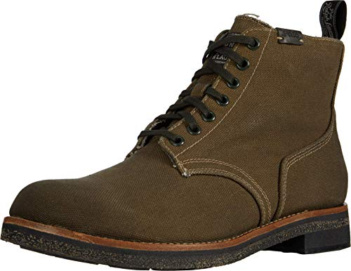 Polo Ralph Lauren Army Boot Classic Olive Waxed Canvas 11
