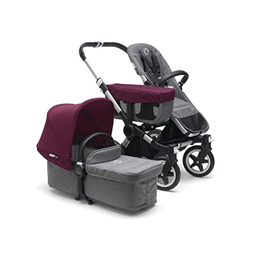 Buy Bargain Bugaboo Donkey 2 Mono Baby Stroller, Foldable Stroller, Converts into Twin Side-by-Side ...