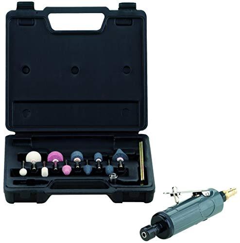 Schneider GmbH DGKD322752 Ponceuse pneumatique à air comprimé SBSet, pression de travail : 6,3 bars, consommation d'air : 5 l/s, boîtier en métal robuste