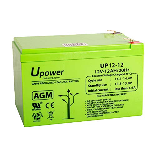Bateria Plomo Agm 12Ah 12V