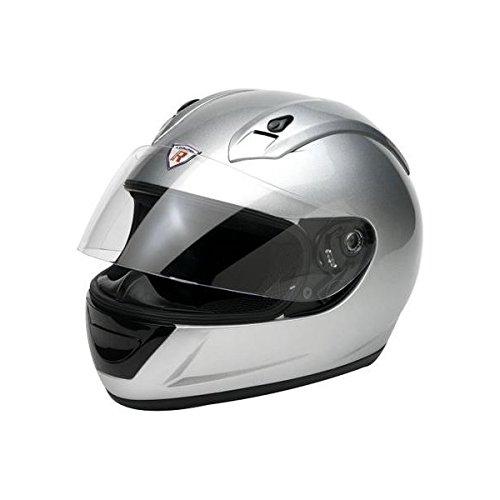 Bottari Motorradhelm Vandal, Integralhelm, Metal Silver, Größe S