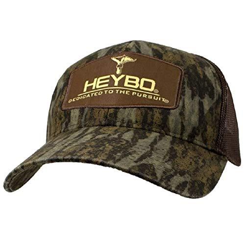 Heybo Outdoors Club Series-Foots Bottomland Adjustable Mesh Back Hat Brown
