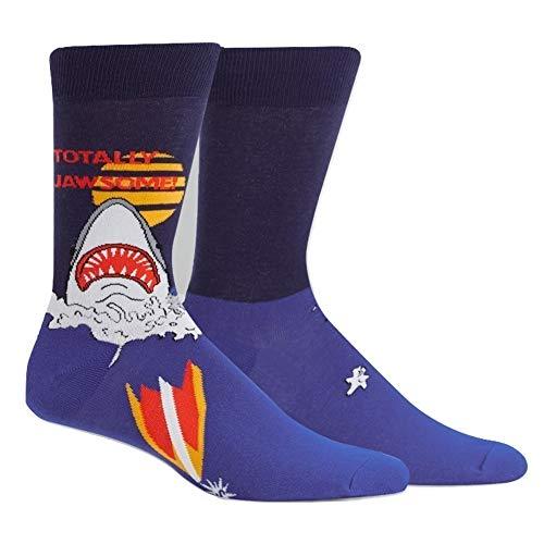 Sock It To Me Herren crew-socken - Totally Jawsome! (Größe 40-46)