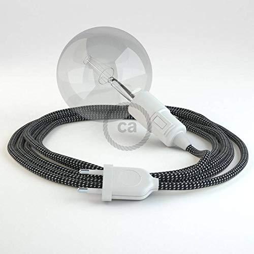creative cables Créez Votre Snake 3D Étoiles RT41 et apportez la lumière là où Vous Souhaitez. - 3 Mètres, Noir