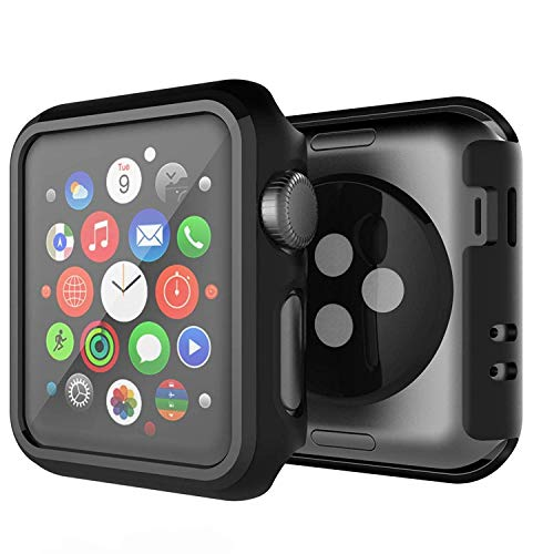 SPORTLINK Bumper for Apple Watch Case 38mm Series 3/2 - Ultra-Thin Anti-Scratch and Shockproof Hard iWatch Bumper Cover for Apple Watch Protector (for Series 3/2 38mm)