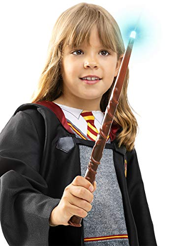 Funidelia | Hermine Granger Zauberstab OFFIZIELLE für Herren und Damen ▶ Gryffindor, Zauberer, Film und Serien, Hogwarts, Zubehör für Kostüm