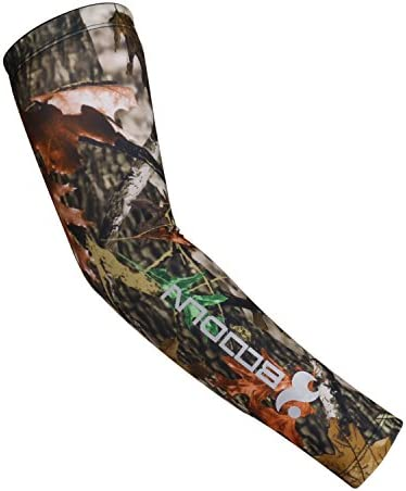 DONWELL Sports Arm Sleeves UV Sun Protection Cooling Arm Sleeve Cover Gloves 1 Pair Camouflage product image