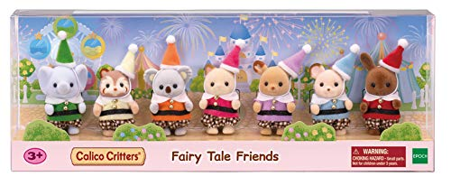 Calico Critters Fairytale Friends, Limited Edition Playset with 7 Collectible Figures and Costume Accessories